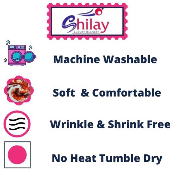 Birmi Shilay Super Soft Luxury Mink Blankets